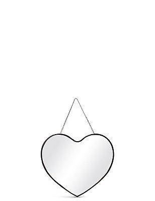 Hanging Heart Mirror, , catlanding