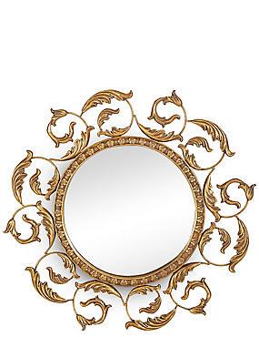 Spiegel mit hängenden Blättern, , catlanding