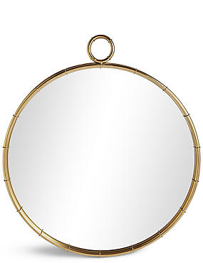 Piped Circular Mirror, , catlanding