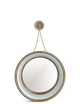 Miley Floral Hanging Mirror, , catlanding