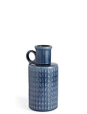 Textured Pottery Jug, , catlanding