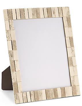 Cadre photo décoratif, effet brossé 20x25cm, , catlanding
