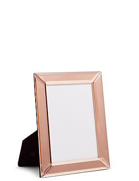 Mirrored Frame 13 x 18 cm (5 x 7inch), ROSE, catlanding