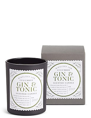 Gin & Tonic Scented Candle, , catlanding