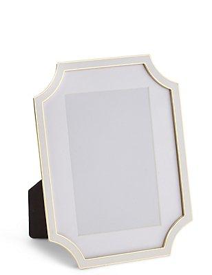 Enamel Photo Frame 10 x 15cm (4 x 6inch), , catlanding