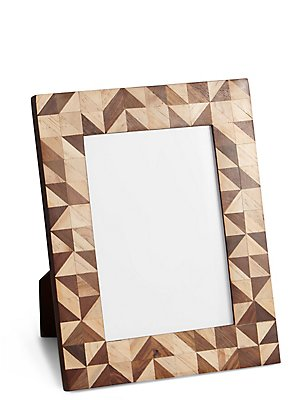 Conran Inlay Photo Frame 13 x 18cm (5 x 7inch), , catlanding