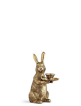 Tafelkandelaar konijn, , catlanding