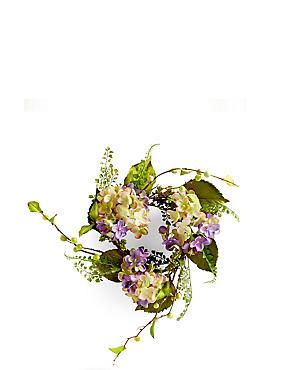 Krans van kunstbloemen, , catlanding