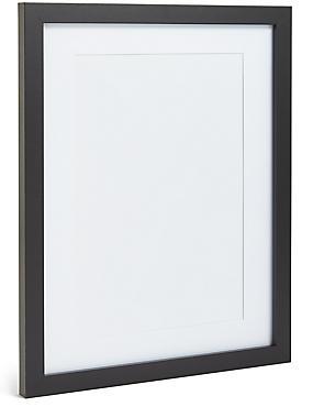 EV A4 Wooden Photo Frame, BLACK, catlanding