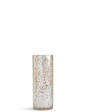 Cylinder Crackle Vase, , catlanding