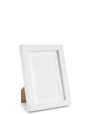 4x6 photoframe, WHITE, catlanding