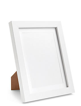 Photo Frame 13 x 18cm (5 x 7inch), WHITE, catlanding