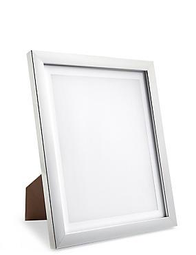 8x10 Photo Frame, SILVER, catlanding