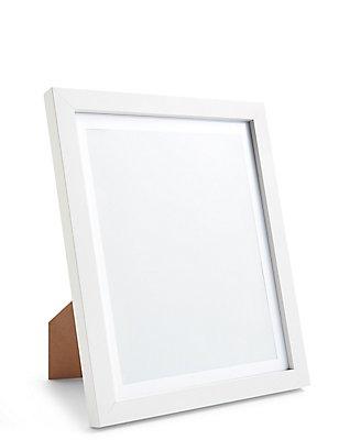 8x10 Photo Frame, WHITE, catlanding