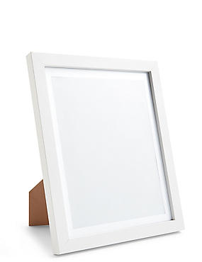 Photo Frame 20 x 25cm (8 x 10inch), WHITE, catlanding