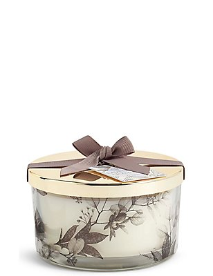 Lavender & Chamomile 3 Wick Scented Candle, , catlanding
