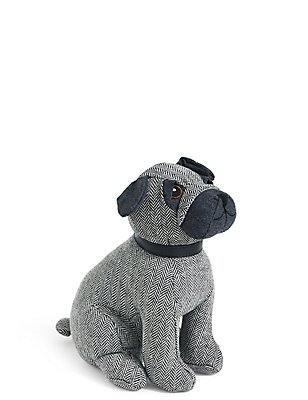 Doug the Pug Doorstop, , catlanding