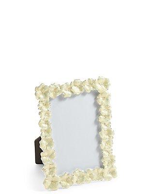 Enamel Flower Photo Frame 10 x 15cm (4 x 6inch), , catlanding