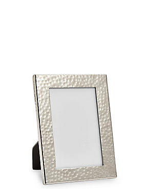 Hammered Metal Frame 10 x 15cm (4 x 6inch), , catlanding