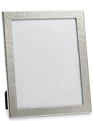 Hammered Metal Photo Frame 20 x 25cm (8 x 10inch), , catlanding