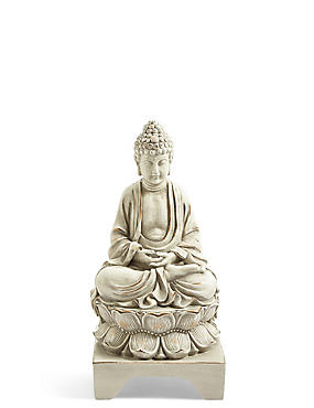 Figurine Buddha assise, , catlanding