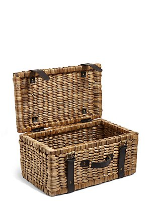 Water Hyacinth Suitcase Storage Box, , catlanding