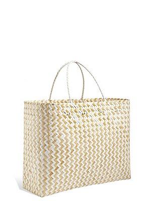 Handwoven Oversized Bamboo Bag, , catlanding