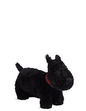 Cale-porte en forme de Scottish terrier, NOIR, catlanding