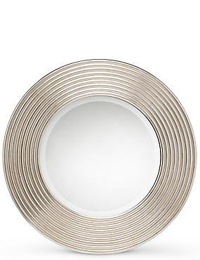 Miroir rond à motif cercles, , catlanding