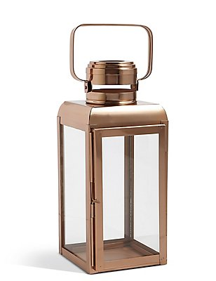 Isla Small Lantern, COPPER, catlanding