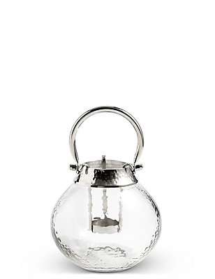 Glass & Metal Lantern, , catlanding