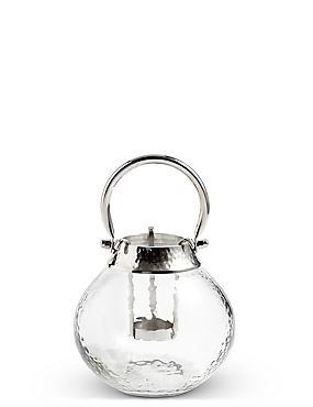Glass & Metal Lantern, , catlanding