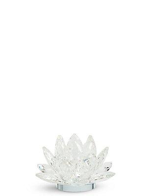 Grand porte-bougie chauffe-plat en forme de fleur découpée, , catlanding