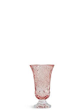 Small Chloe Posy Vase, PINK, catlanding