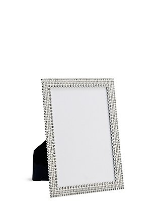 Natalie Diamanté Photo Frame 13 x 18cm (5 x 7inch), , catlanding