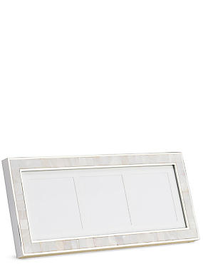 Eva Multi-Aperture Photo Frame, WHITE MIX, catlanding