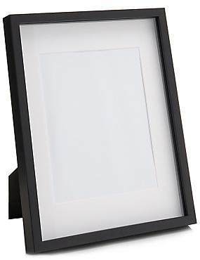 Solid Wood Photo Frame 20 x 25cm (8 x 10inch), BLACK, catlanding