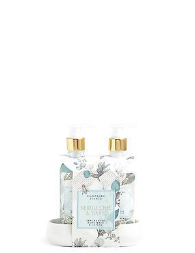 Neroli Lime & Basil Hand Wash & Lotion, , catlanding
