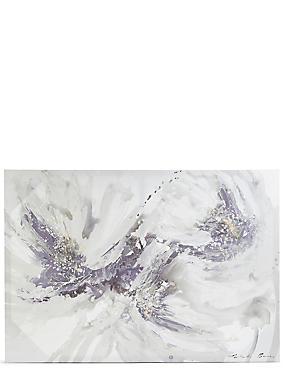 Natasha Barnes – Wandschmuck Blumenfantasien auf Leinwand, , catlanding