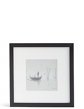 Venice Mist II Framed Wall Art, , catlanding