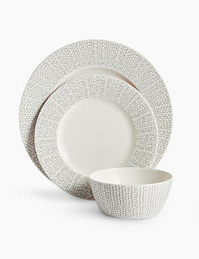 12 Piece Palermo Dinner Set, LIGHT GREY MIX, catlanding