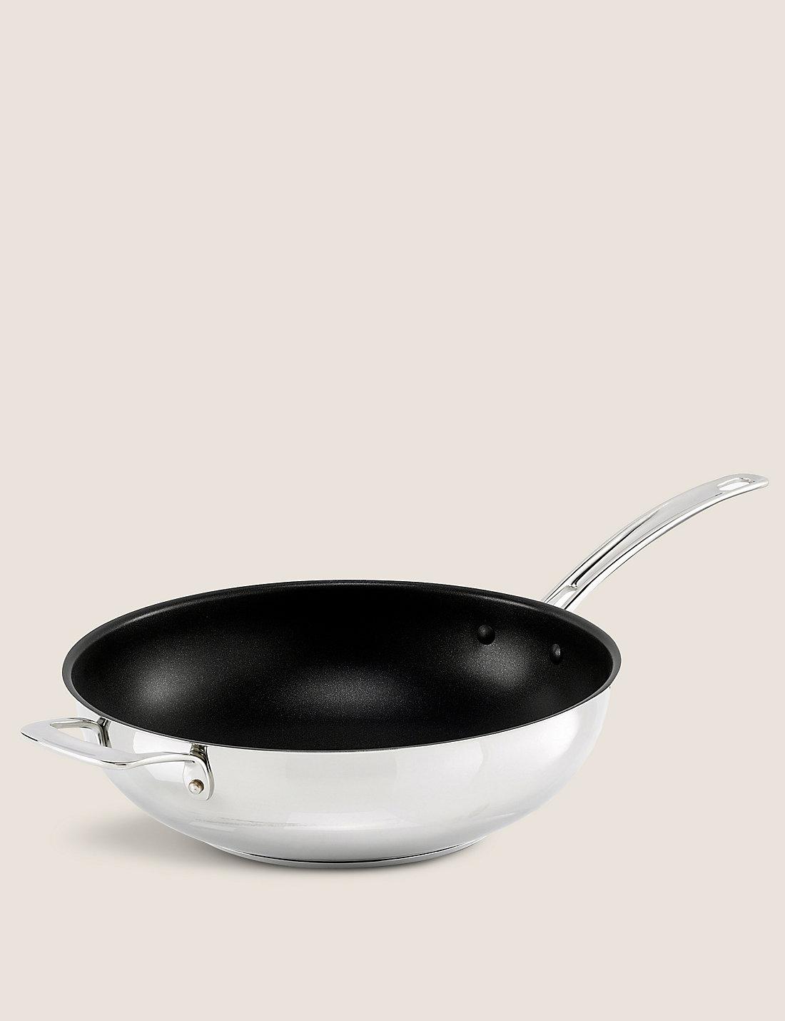 30cm stainless steel wok