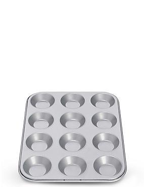12 Cup Non-Stick Bun Tray, , catlanding