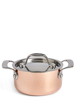 Chef Mini Copper Casserole Dish, , catlanding