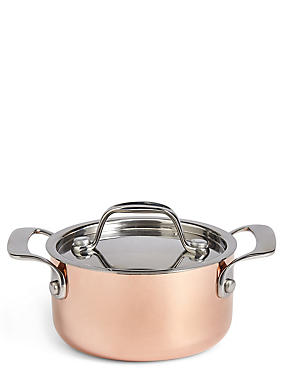Chef Mini Copper Casserole Dish, , catlanding