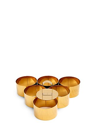 Set of 6 Cooking Rings with Press, , catlanding