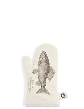 Chef– Manique à motif poisson, , catlanding