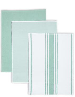 3 Pack Assorted Hand Towels, , catlanding