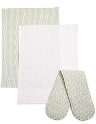 Tea Towel & Oven Mitt Bale, , catlanding