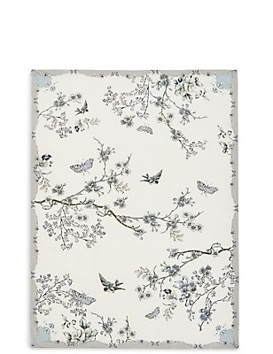 Dove Pale Single Tea Towel, , catlanding